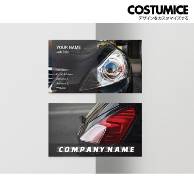 Costumcie Design Multipurpose name card template CDS-GEN-05-01