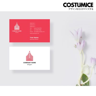 Costumcie Design Multipurpose name card template CDS-GEN-11-01