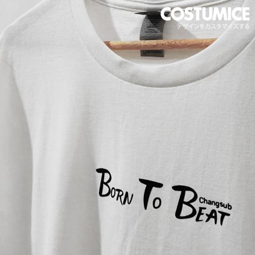 Costumice Design portfolio apparel t-shirt Born To Beat