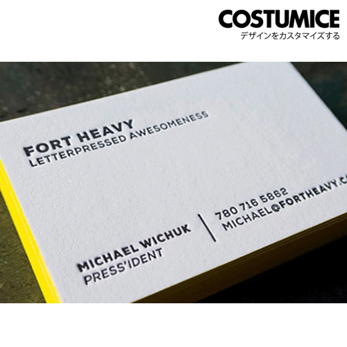 Painted Edge Business Card 2