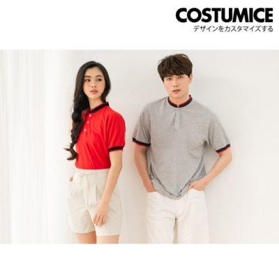 Costumice Design Signature Mandarin Collar polo 1