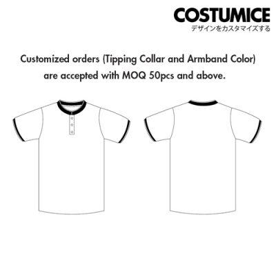 Costumice Design Signature Mandarin Collar Polo 3
