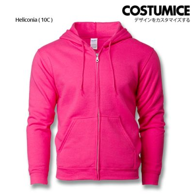 Costumice Design Heavy Blend Full Zip Hoodie Printing- Heliconia