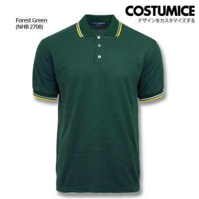 Costumice Design Signature Collection Business Polo - Forest Green