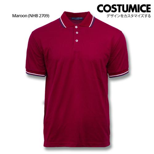 Costumice Design Signature Collection Business Polo - Maroon