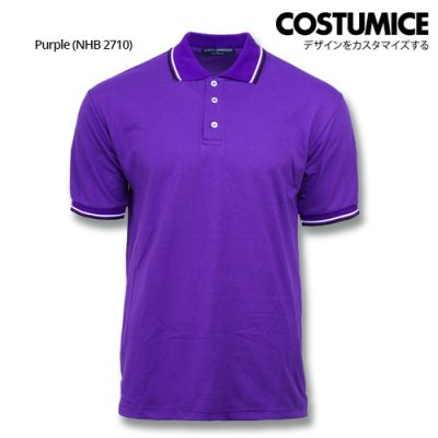 Costumice Design Signature Collection Business Polo - Purple