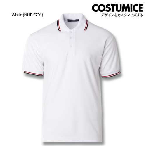Costumice Design Signature Collection Business Polo - White
