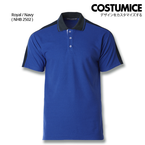Costumice Design Signature Collection Smart Casual Polo - Royal+Navy