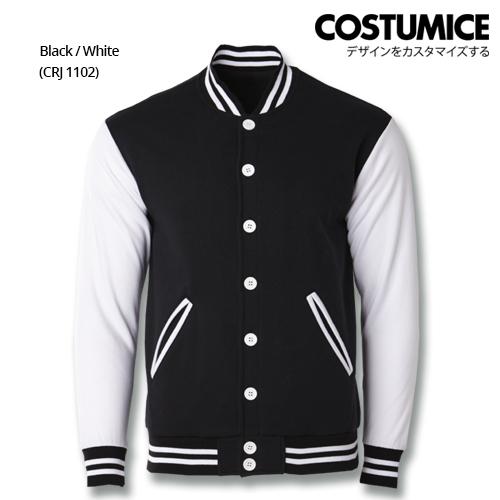 Costumice Design Varsity Jackets - Black And White