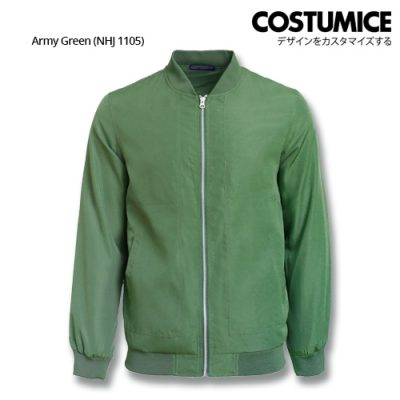 Costumice Design Bomber Jacket - Army Green