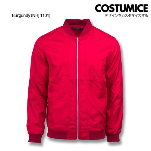 Costumice Design Bomber Jacket - Burgundy